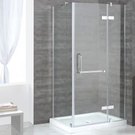 Ove Decors Side Panel Shower Shelby 36x32 Ch