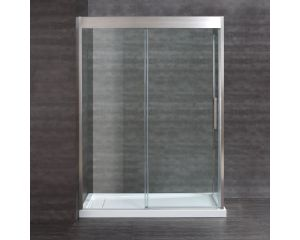 Aruba 60x32 Satin Nickel