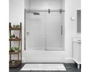 categories shower uno depot inch with chrome en doors door showers home frameless aqua x canada in p the hinged bath tub