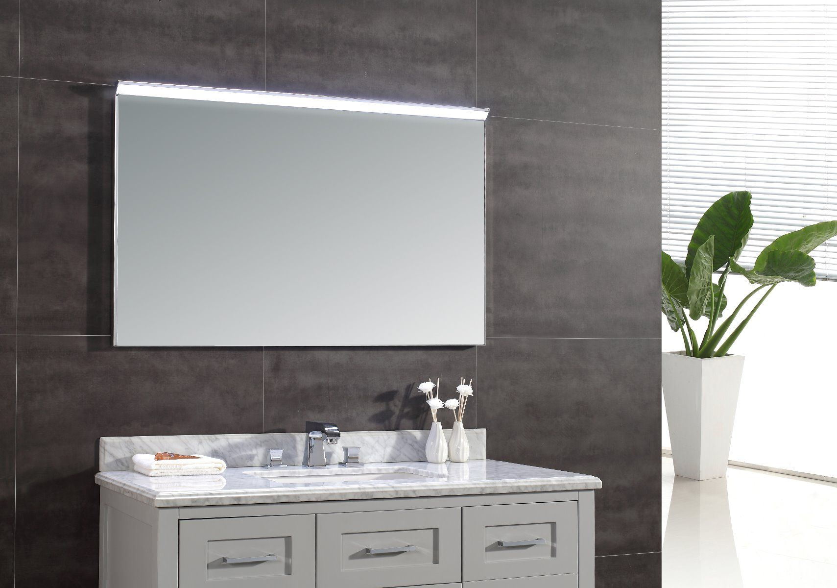 Ove Decors Villon Led Bathroom Mirror: OVE DECORS LED Mirror Wall Hung